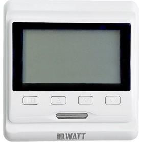Терморегулятор IQ Watt Thermostat P белый ➦ Vanna-retro.ru