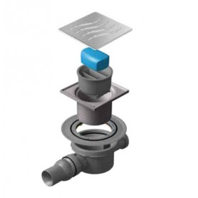 Трап водосток Pestan Confluo Standard Dry 2 100*100 мм