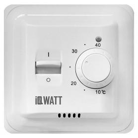 Терморегулятор IQ Watt Thermostat M белый ➦ Vanna-retro.ru