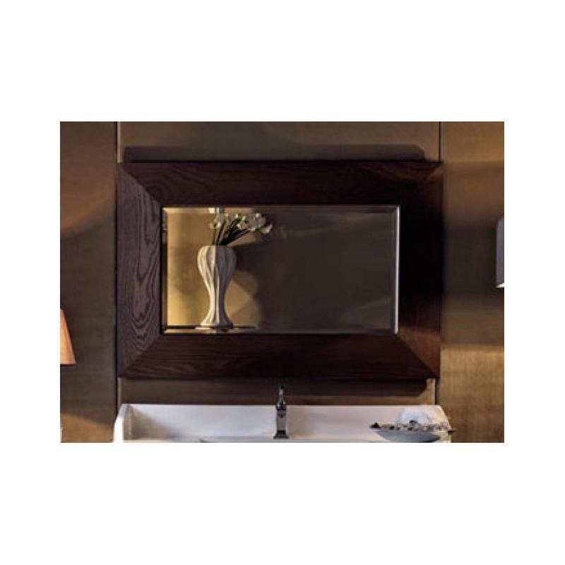 Зеркало в деревянной раме Kerasan Bentley 918147 в цвете темный ясень ➦