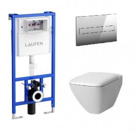 Инсталляция Laufen с унитазом Laufen Palace New