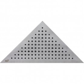 Решетка водосточная треугольная Alca Plast Triton ➦