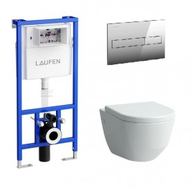 Инсталляция Laufen с унитазом Laufen Pro 8.2095.6.000.000.1 ➦