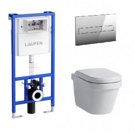 Инсталляция Laufen с унитазом Laufen LB3 8.2068.0.000.000.1 ➦