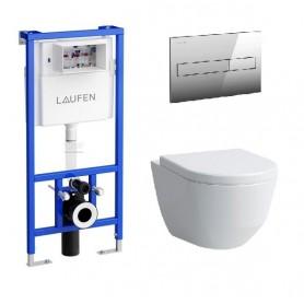 Инсталляция Laufen с унитазом Laufen Pro New 8.2095.6.400.000.1