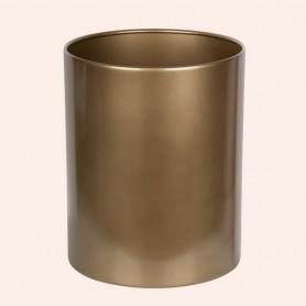 Ведро Tiffany World TWCV011-12.5, цвет: золото (12,5 литров) -