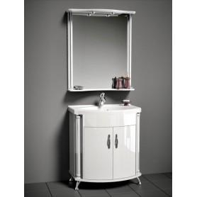Мебель для ванной Белюкс Ария 80 цвет белый