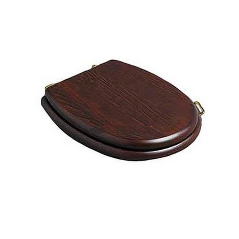 Деревянное сидение для унитаза Simas Lante LA 005Br орех, петли