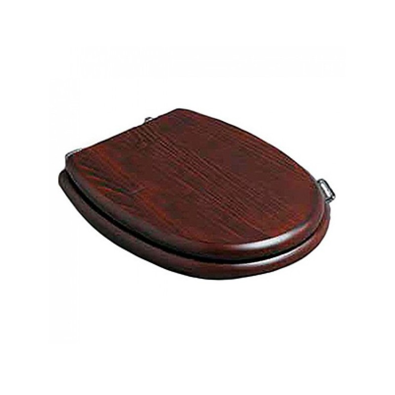 Деревянное сидение с микролифтом для унитаза Simas Lante LA 008