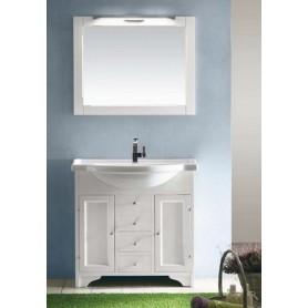 Мебель для ванной Eban Eleonora 85 в цвете bianco decape