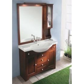 Мебель для ванной Eban Eleonora 105 в цвете орех