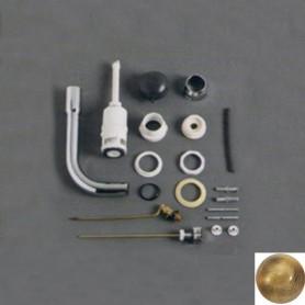 Механизм слива с трубой Simas D11Br в цвете бронза (кнопка бронза)