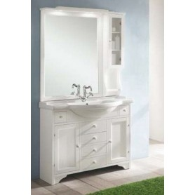 Мебель для ванной Eban Eleonora 105 в цвете bianco decape