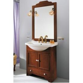 Мебель для ванной Eban Carla 75 в цвете орех ➦ Vanna-retro.ru