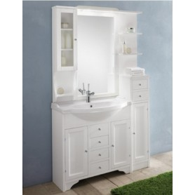 Комплект мебели Eban Eleonora Modular 107 в цвете bianco decape ➦ Vanna-retro.ru
