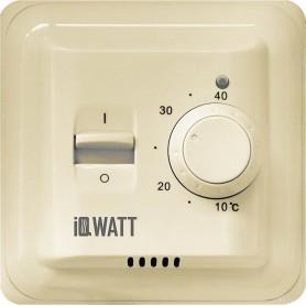 Терморегулятор IQ Watt Thermostat M кремовый ➦ Vanna-retro.ru
