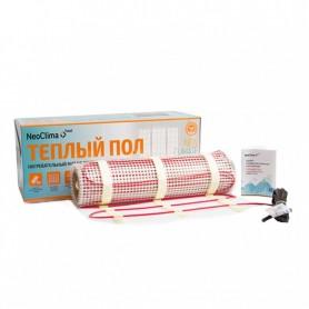Мат нагревательный Neoclima N-TM 1800/12: площадь обогрева 12