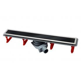 Душевой лоток Pestan Confluo Premium With Black Glass Line 750
