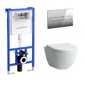 Инсталляция Laufen с унитазом Laufen Pro Rimless 8209650000001