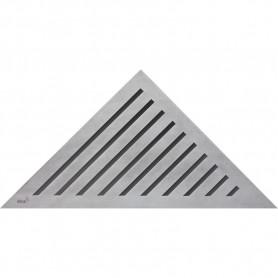 Решетка водосточная треугольная Alca Plast Grace ➦