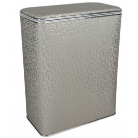 Корзина для белья Geralis FHH-B серебро, хром, стандартная