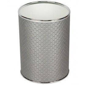 Мусорное ведро Geralis M-PHH-B серебро, хром, 3 л -