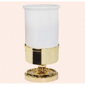 Стакан настольный Tiffany World Bristol TWBR190, цвет: золото -