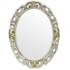 Зеркало Tiffany World, TW03642avorio/oro, цвет рамы слоновая