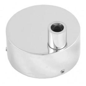 Коробка для скрытого подключения полотенцесушителя хром