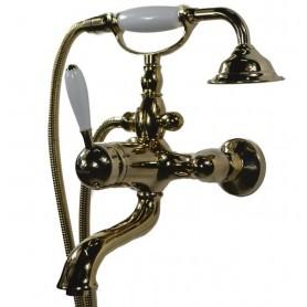 Смеситель для ванны Magliezza Bianco 50605-3-do золото