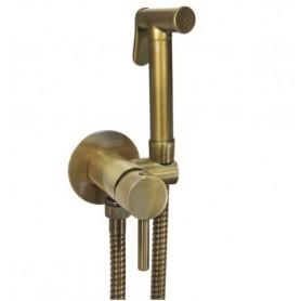 Гигиенический душ Giulini Futuro GIU.FSH25/BBR со смесителем