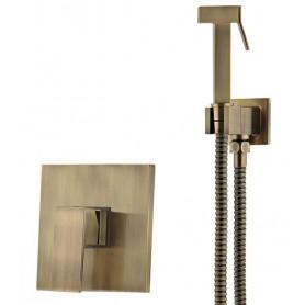 Гигиенический душ Ganzer 5202D со смесителем бронза
