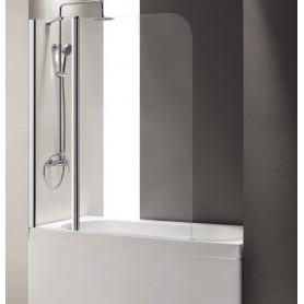 Шторка на ванну Cezares Eco-O-V-11 120х140 стекло прозрачное