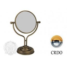 Зеркало Migliore Mirella, ML.MRL-1300CRDO, цвет: хром/золото ➦ Vanna-retro.ru