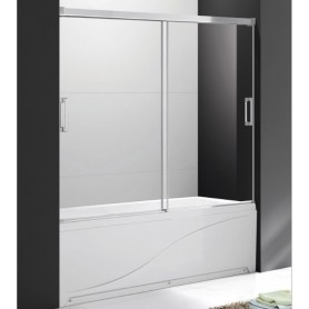 Шторка на ванну Cezares TANDEM-SOFT-VF-2-160/145 стекло прозрачное