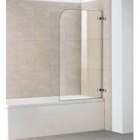 Шторка для ванны Weltwasser WW100 100D2AK-100 стекло прозрачное