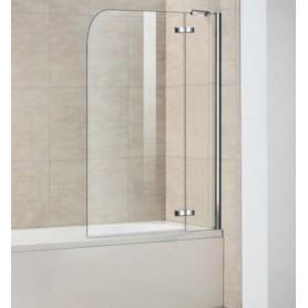 Шторка для ванны Weltwasser WW100 100D2-100 стекло прозрачное
