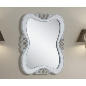 Зеркало Tessoro Joli белый с серебром