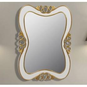Зеркало Tessoro Joli белый с золотом