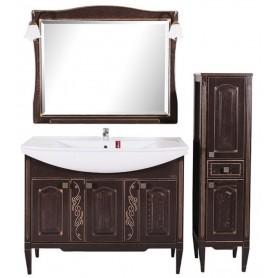 Мебель для ванной АСБ Модена 105 (орех - патина золото)