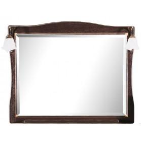 Зеркало АСБ Модена 85 (орех - патина золото)