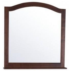 Зеркало с полкой АСБ Модерн 85 цвет орех