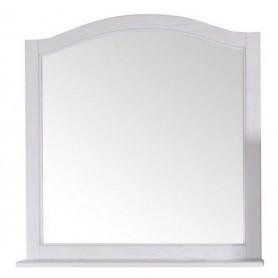 Зеркало с полкой АСБ Модерн 85 цвет белый