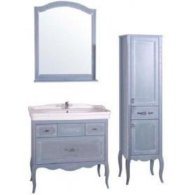 Мебель для ванной АСБ Модерн 85 цвет голубой