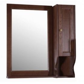 Зеркало со шкафом АСБ Гранда 85 (орех)