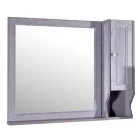 Зеркало со шкафом АСБ Гранда 85 (зеленый)