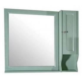 Зеркало со шкафом АСБ Гранда 105 (зеленый)