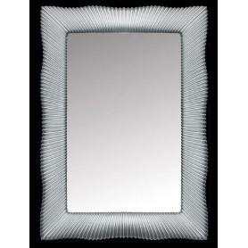 Зеркало Armadi Art 522 с подсветкой цвет серебро 80х120 см