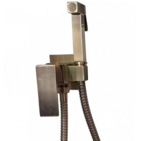 Гигиенический душ Grohenberg GB001 бронза в комплекте со встраиваемым смесителем