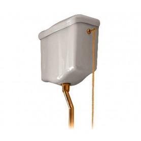 Механизм смыва к высокому бачку Kerasan 754693 бронза